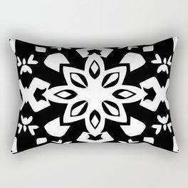 Callisto III (Black) Rectangular Pillow