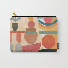 Modern Abstract Art 73 Carry-All Pouch
