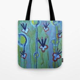 Blue Jolt Tote Bag