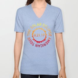 The Solar Eclipse American Tour Unisex V-Neck