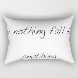Alexander Hamilton Quote Rectangular Pillow
