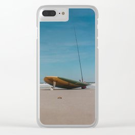 Surf Board Clear iPhone Case