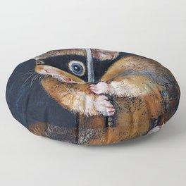 Ninja Hamster Floor Pillow