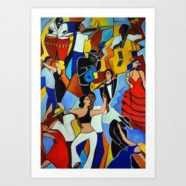 SALSA SAUVAGE Art Print