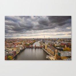 Berlin Oberbaumbrücke Canvas Print