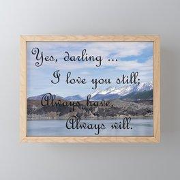 Forever Love Framed Mini Art Print