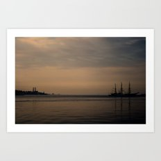 In the Distance Art Print