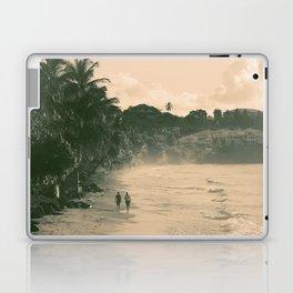 Tropical Beach Laptop & iPad Skin