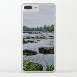 Rocky River Clear iPhone Case