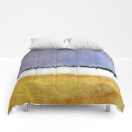 Mark Rothko Interpretation Acrylics On Paper Comforters