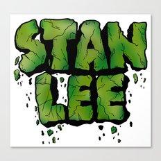 Stan Lee (Hulk) Canvas Print