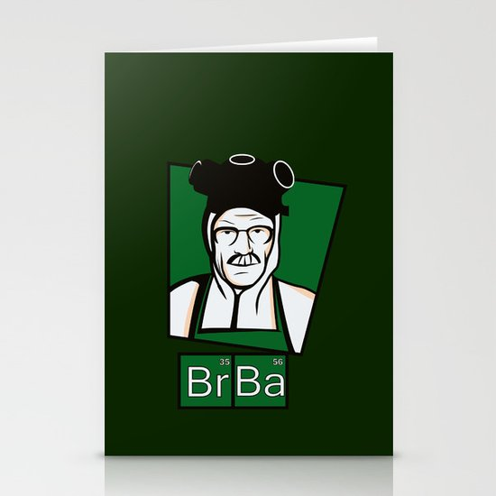 The Cook of Breaking Bad Stationery Cards