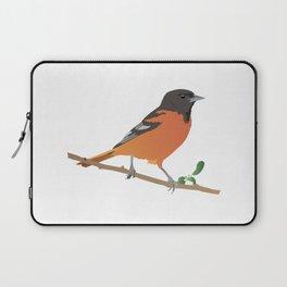 Baltimore Oriole Bird Laptop Sleeve