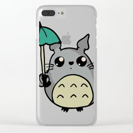 my best studio ghibli Clear iPhone Case