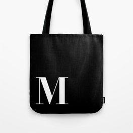 Initial M Tote Bag