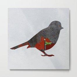 Little Garden Bird Metal Print