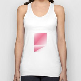 pink color energy fold Unisex Tank Top