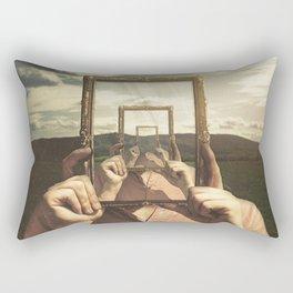 Empty Frame Rectangular Pillow
