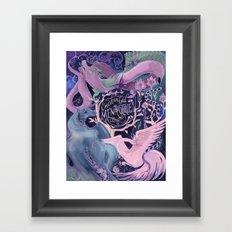 Enchanted Menagerie Framed Art Print