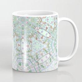 Mint Geometric Ombre Coffee Mug