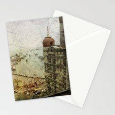 Taj Mahal Palace hotel and the Gateway of India monument, Mumbai, India Stationery Cards