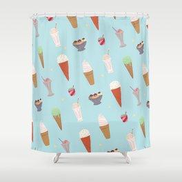 Ice Cream Madness Shower Curtain
