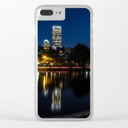 Reflections of Boston Clear iPhone Case