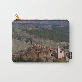 Village Among Hills Carry-All Pouch