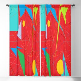 Euclid's Spider Webs Blackout Curtain