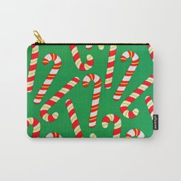 Candy Canes Carry-All Pouch