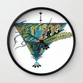 Regality (neon alternate) Wall Clock