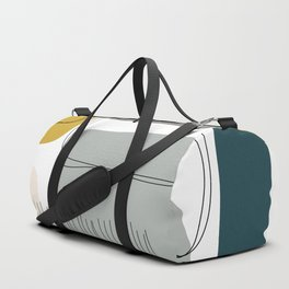 Abstract Shapes 01 Duffle Bag