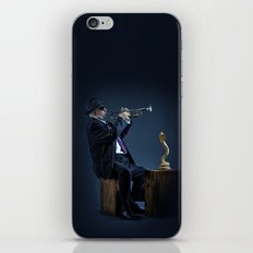 jazz snake charmer iPhone & iPod Skin