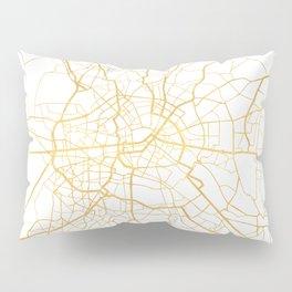 BERLIN GERMANY CITY STREET MAP ART Pillow Sham