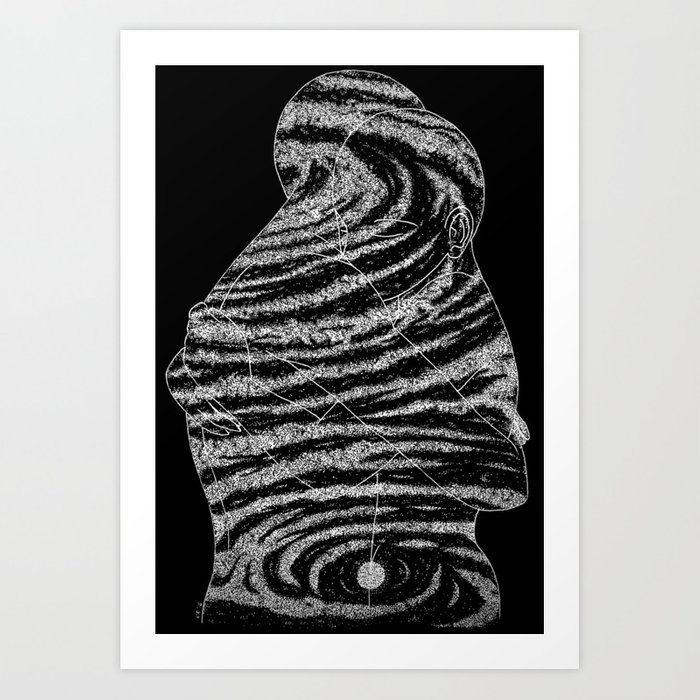 Svadhishthana Starseeds Inverted Art Print