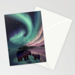 Aurora Bearealis  Stationery Cards