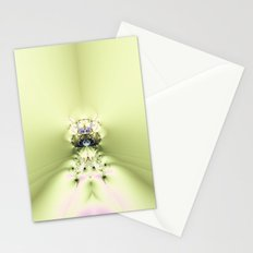 Green Meditation Stationery Cards