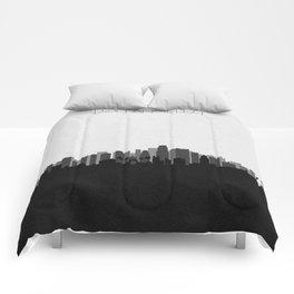 City Skylines: Los Angeles (Alternative) Comforters