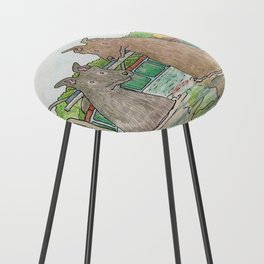 Pool Party Counter Stool