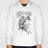 wildlife Hoodies featuring protect our wildlife  by KatePowellArt