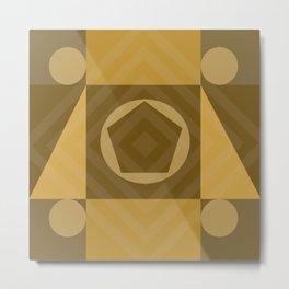 Geometric 02 Metal Print