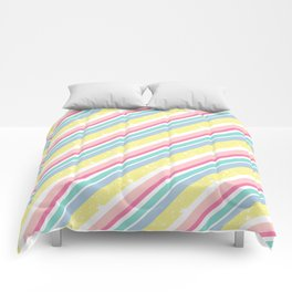 Party stripes Comforters