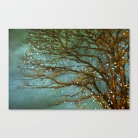 lights Canvas Prints featuring Magical by The Last Sparrow