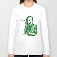 anchorman Long Sleeve T-shirts featuring Anchorman: 60% of the Time by Red Misery