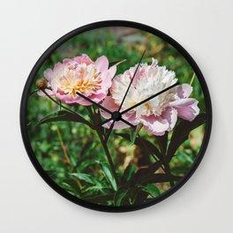 Manhattan Bloom VI Wall Clock