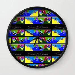 Te Amo El Salvador Wall Clock
