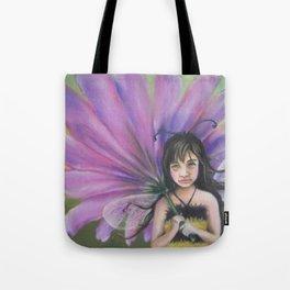Z imagination Bee Girl Tote Bag