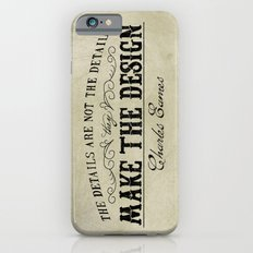 The Details are not the Details Slim Case iPhone 6s