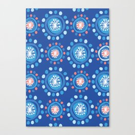 Bubbly Pattern Canvas Print