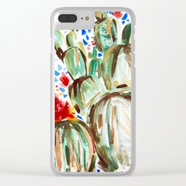 Melody Maker Plants Clear iPhone Case